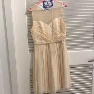 J. Crew Silk Chiffon Clara Dress